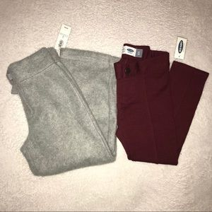 Old navy girl pants bundle size 4T